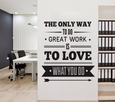 office-decor-typography-inspirational-quote---wall-decoration-art---success-quote---the-only-way-to-do-great-work-is-to-love-what-you-do
