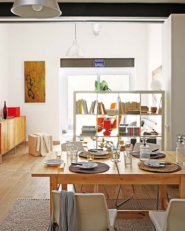 apartment dining space