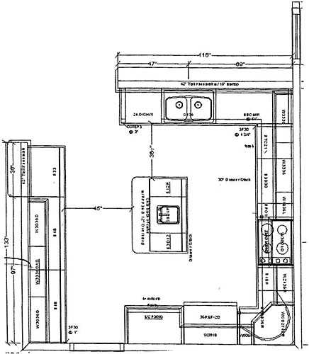 Kitchen Design Plans Home Design Ideas - Kitchen design plans ideas